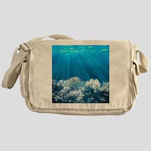 Tropical Reef Messenger Bag