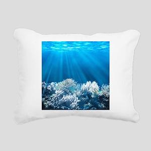 Tropical Reef Rectangular Canvas Pillow