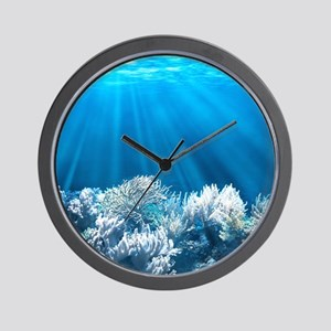 Tropical Reef Wall Clock