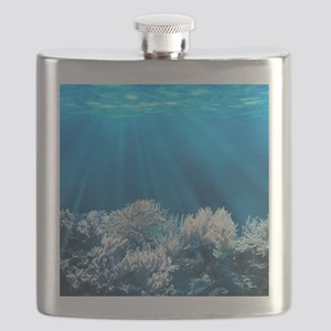 Tropical Reef Flask