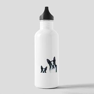 Dog 128 Boston Terrier Stainless Water Bottle 1.0L