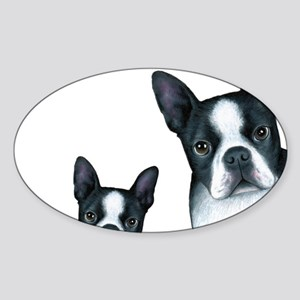 Dog 128 Boston Terrier Sticker