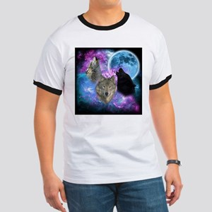 Wolves Mystical Night T-Shirt