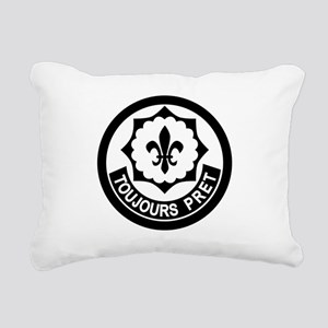 2nd Armored Cavalry Rectangular Canvas Pillow
