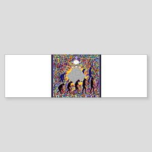 Dan Baran Painting Bumper Sticker