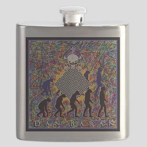 Dan Baran Painting Flask