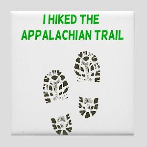 I Hiked the Appalachian Trail Tile Coaster