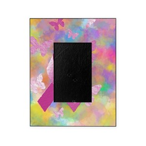 Breast Cancer Picture Frames Cafepress