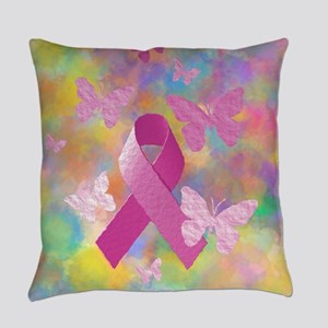 Breast Cancer Awareness Everyday Pillow