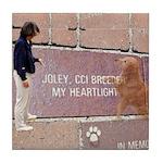 Joley's tribute Tile Coaster