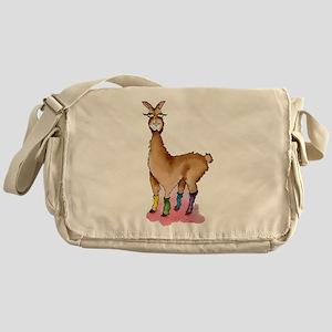Lady Llams Messenger Bag
