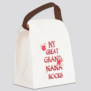 My NANA Rocks Canvas Lunch Bag