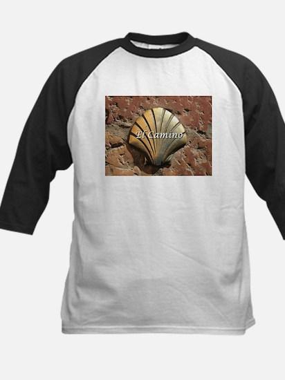 El Camino gold shell, Leon,Spain ( Baseball Jersey
