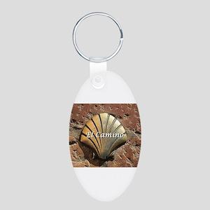 El Camino gold shell, Leon,Spain ( Keychains