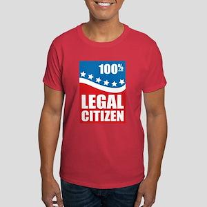 100% Legal Citizen Dark T-Shirt
