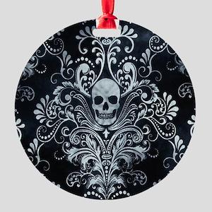 Skulls Round Ornament