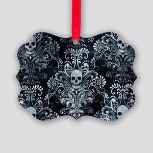 Skulls Picture Ornament