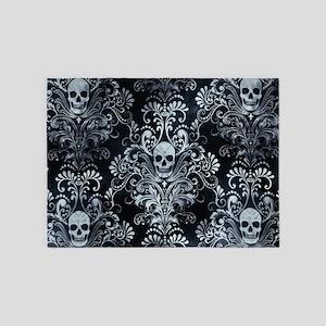 Skulls 5'x7'Area Rug