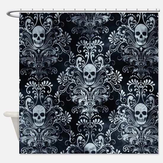 Skulls Shower Curtain