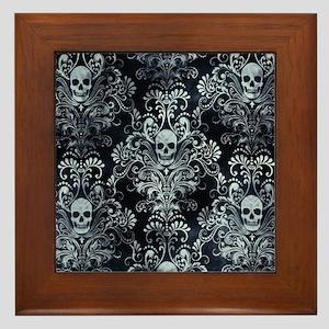 Skulls Framed Tile