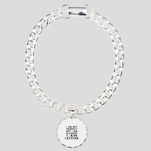 Latvian Designs Charm Bracelet, One Charm