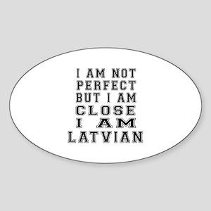 Latvian Designs Sticker (Oval)
