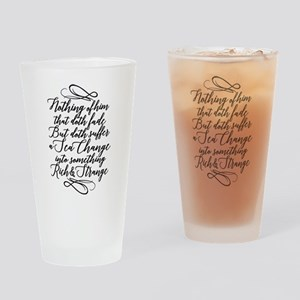 The Tempest Sea Change Drinking Glass