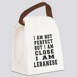 Lebanese Designs Canvas Lunch Bag