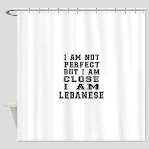 Lebanese Designs Shower Curtain
