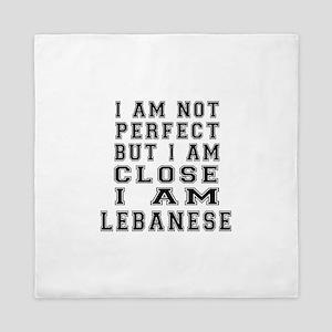 Lebanese Designs Queen Duvet