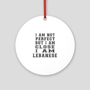 Lebanese Designs Round Ornament