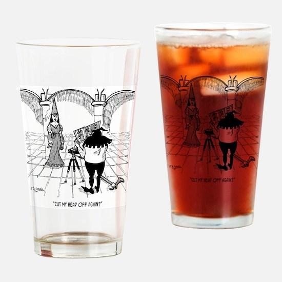 Photographer Cartoon 2155 Drinking Glass