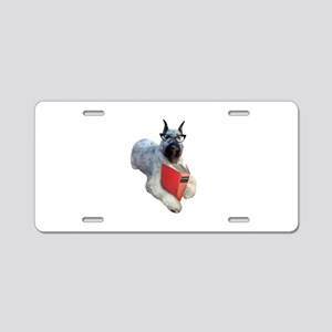 Dog Book Aluminum License Plate