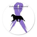 Linda Phillips Memorial Challenge Round Car Magnet