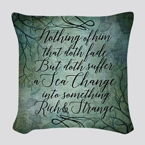 The Tempest Sea Change Woven Throw Pillow