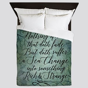 The Tempest Sea Change Queen Duvet