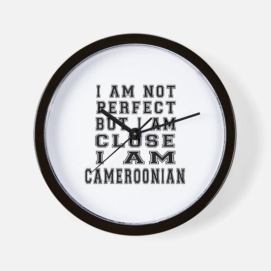 Cameroonian Designs Wall Clock