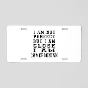 Cameroonian Designs Aluminum License Plate