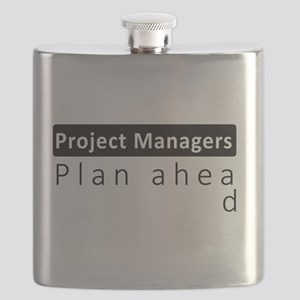 Project Managers Plan Ahead Flask