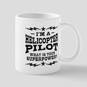 Funny Helicopter Pilot 11 oz Ceramic Mug