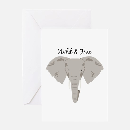 Wild & Free Greeting Cards