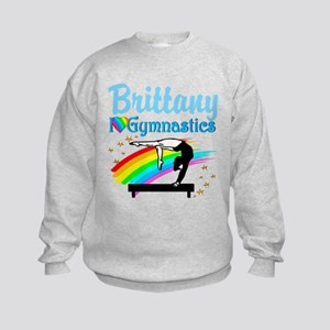 GRACEFUL GYMNAST Kids Sweatshirt