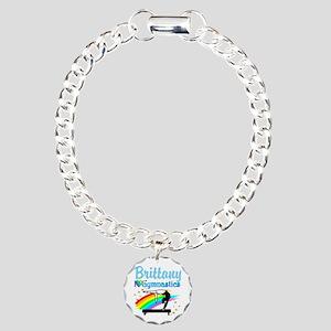 GRACEFUL GYMNAST Charm Bracelet, One Charm