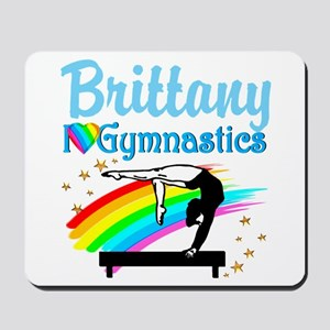 GRACEFUL GYMNAST Mousepad