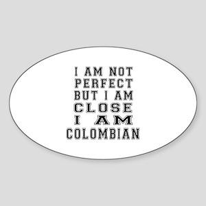 Colombian Designs Sticker (Oval)