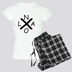 Hurrican Katrina X NOLA bla Women's Light Pajamas