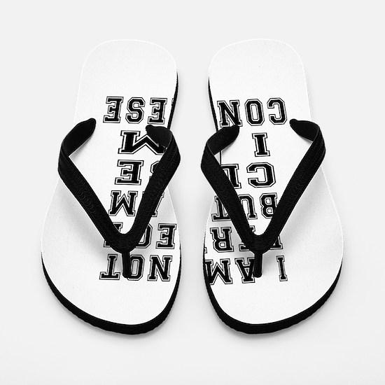 Congolese Designs Flip Flops
