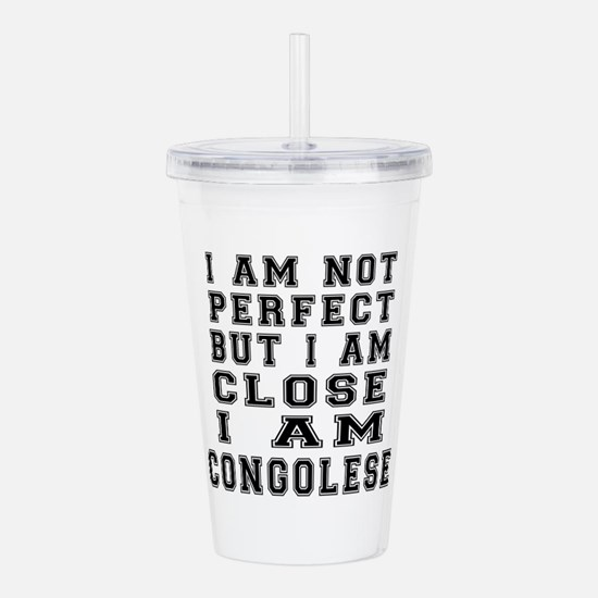 Congolese Designs Acrylic Double-wall Tumbler