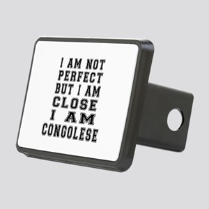 Congolese Designs Rectangular Hitch Cover