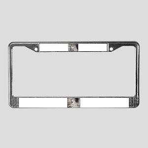 Notts License Plate Frame